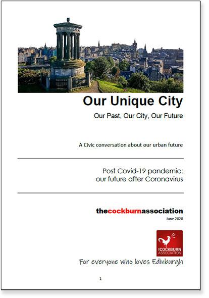 Our Unique City: Our Future after COVID-19